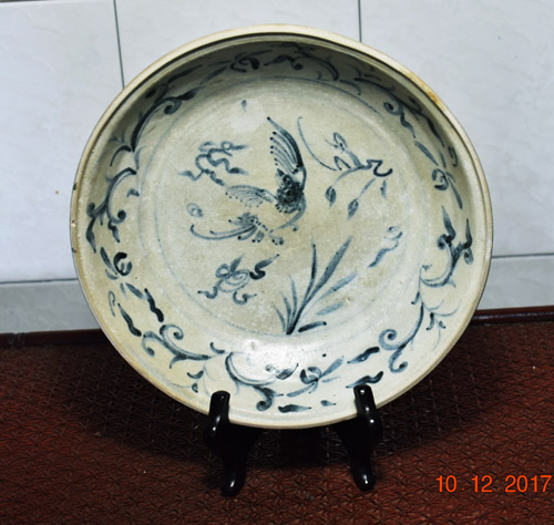 Hoi an shipwreck Vietnamese blue and white plate ... & Chinese Antique Ceramics (porcelains)